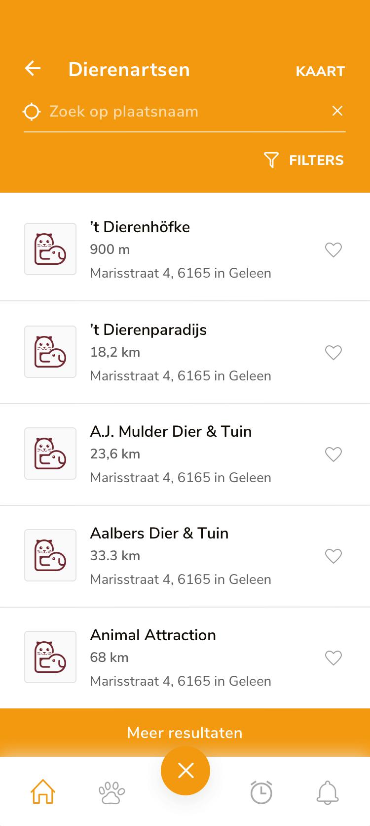 Alles in de buurt in één app